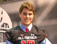 Alabama commit Pierce Quick receives UA jersey, focused on playoffs