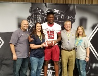 Kaven 'King' Mwikuta receives Under Armour All-American jersey