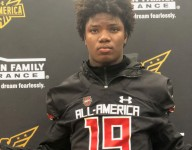 Four-star Lewis Cine receives Under Armour All-American jersey, discusses top 5 schools
