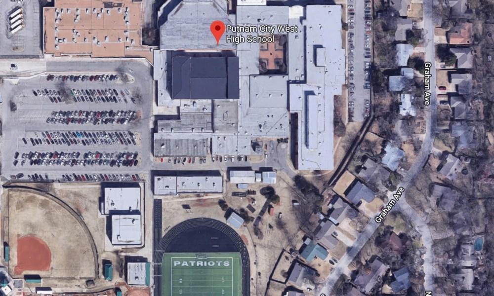 Putnam City West High School (Photo: Google Earth)