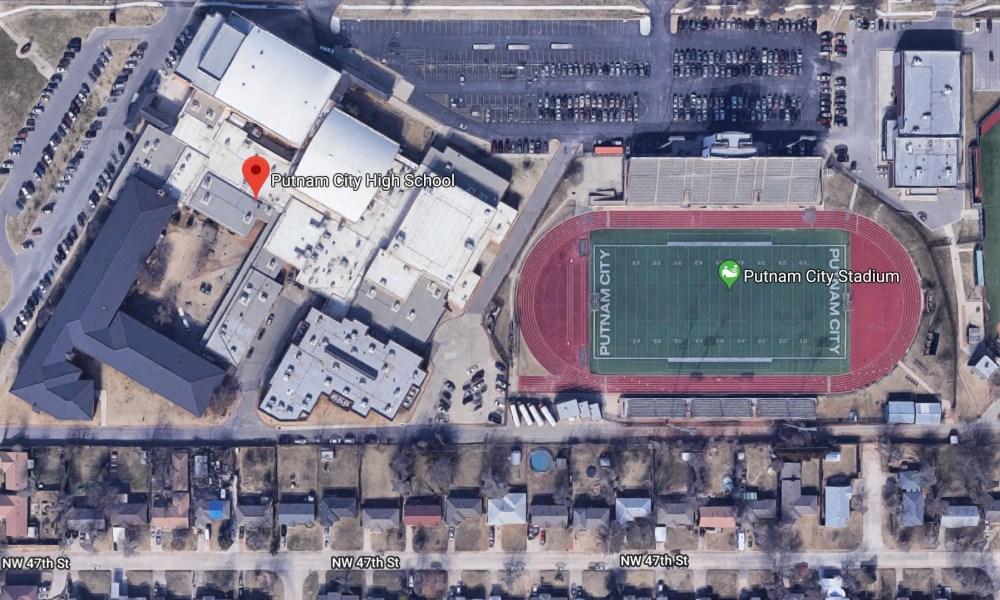 Putnam City High School (Photo: Google Earth)