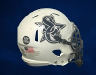 Georgia high school honors officer killed on duty with helmet decals
