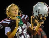 New Jersey girl, 16, kicks down football barriers