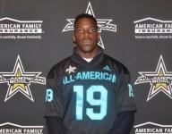 Chosen 25 DE Zach Harrison receives All-American jersey, still unsure of future