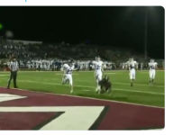VIDEO: Out of Kansas comes this diving, one-handed snag for a TD