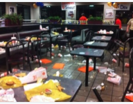 Texas football rivalry gives way to postgame food fight at Whataburger
