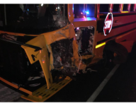 Driver killed in crash with bus carrying Wis. girls basketball team