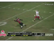 VIDEO: W. Va. receiver adjusts to ball in flight to make pretty one-handed snag