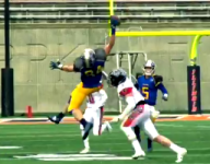 VIDEO: Illinois TE makes sensational one-handed grab in state final