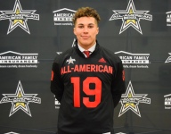 Stanford commit Tristan Sinclair 'excited' to receive his AAG jersey