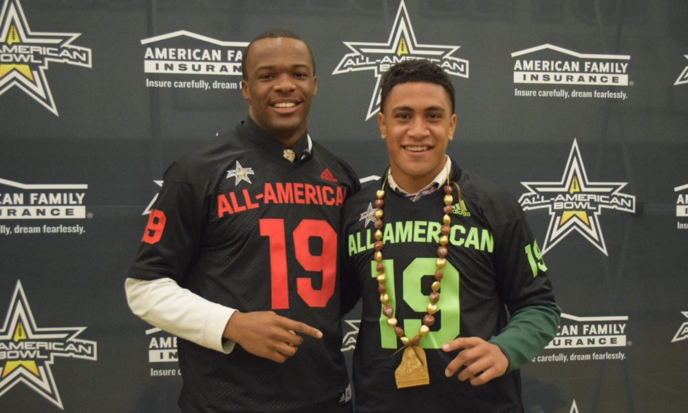 Isaiah Foskey (left) and Henry To'oto'o. Photo: AAG