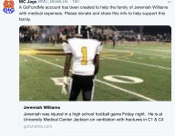 Mississippi high school football player Jeremiah Williams dies from injuries
