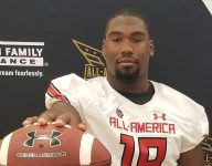 4-star DL Jowon Briggs receives UA All-American jersey, optimistic about UVA's future