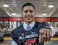 Wake Forest commit Ivan Mora celebrates Under Armour Game selection