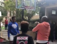 VIDEO: LeBron 'Bronny' James Jr. throws down monster jams in a Duke hoodie