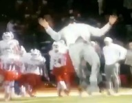 VIDEO: The most athletic person in HS football is a coach in Dallas