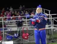 Maine school's cheerleading squad consisted of one girl for football season