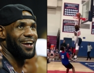LeBron James announces Bronny's arrival on Instagram, threatens haters