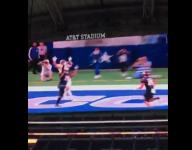 VIDEO: Watch Aledo (Texas) DB make one-handed INT, return it 103 yards for TD