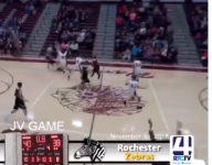 VIDEO: Indiana JV hoops player wins game with 3/4-court buzzer beater