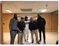 Jazz star Donovan Mitchell a surprise attendee at SLC-area hoops game