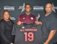 Texas A&M commit DeMarvin Leal gets All-American jersey, ready for short drive to Alamodome