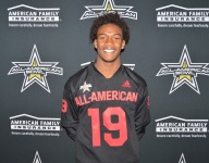 Garrett Wilson re-affirms Ohio State commitment with All-American jersey in hand