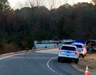 One child dead, 45 injured in youth football bus crash in Arkansas