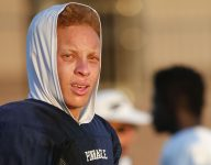 Watch Spencer Rattler dazzle with long-distance throwing test on mountain at ASU