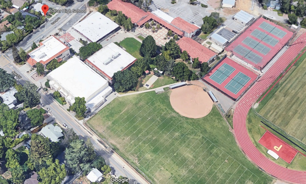 Placer High School (Photo: Google Earth)