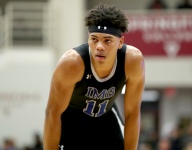 Chosen 25 guard Jaden Springer cuts his list of schools