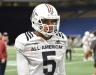 Report: ALL-USA WR Bru McCoy entering transfer portal, expected to return to USC from Texas