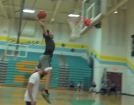 VIDEO: Watch 14-year-old Mikey Williams clear videographer on incredible slam