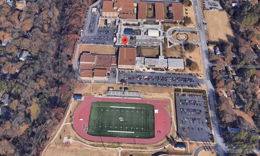 Spartanburg High School (Photo: Google Earth)