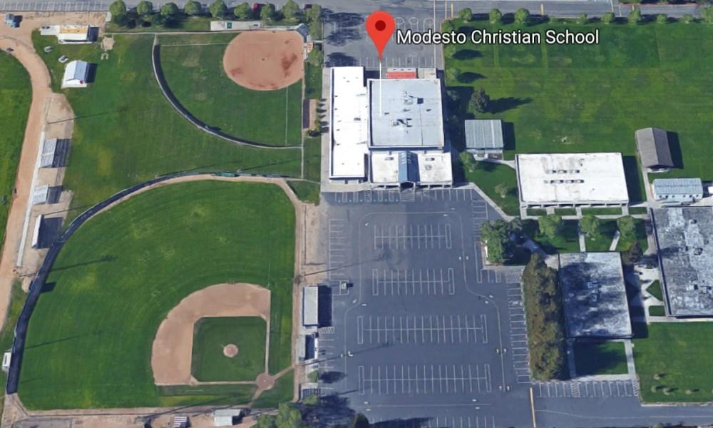 Modesto Christian (Photo: Google Earth)