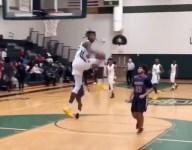 VIDEO: 4-star PF CJ Walker flushes jaw dropping 360 eastbay dunk on fast break