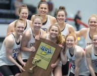 Carmel (Ind.) girls swimming won its 33rd straight title
