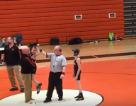 Tears shed as fifth-grade wrestler with cerebral palsy takes mat, wins by pin
