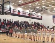 VIDEO: The national anthem wouldn't play. So Iowa students surprised everyone by singing it themselves.