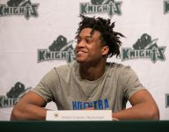 Despite missing two seasons with ACL injuries, Delaware basketball player headed to Hofstra