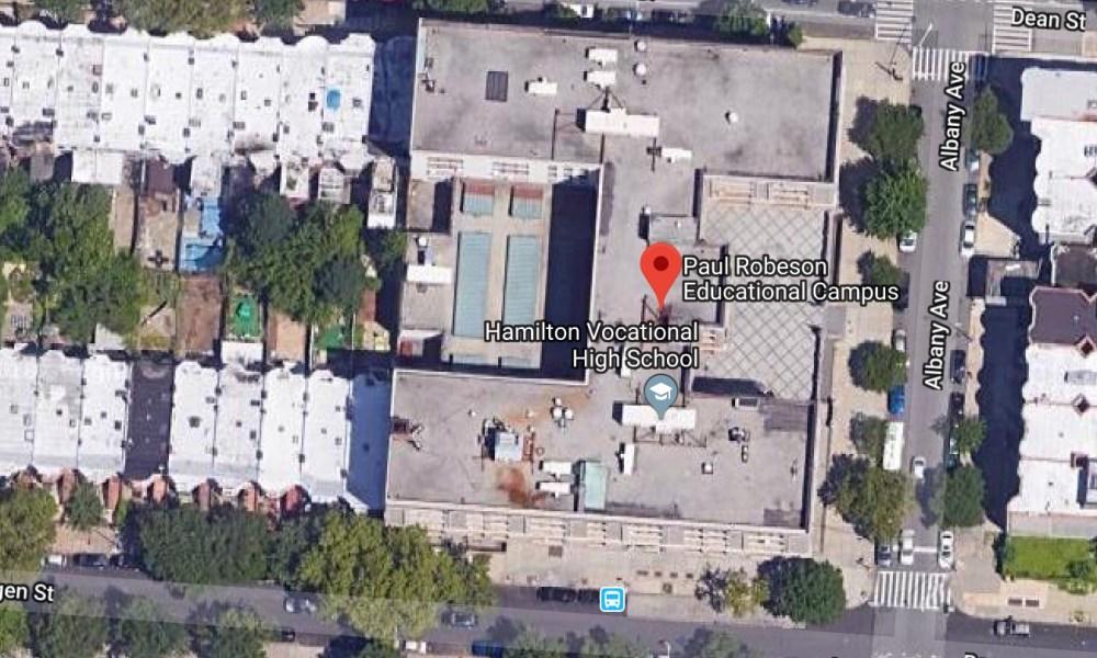 Paul Robeson High School (Photo: Google Earth)