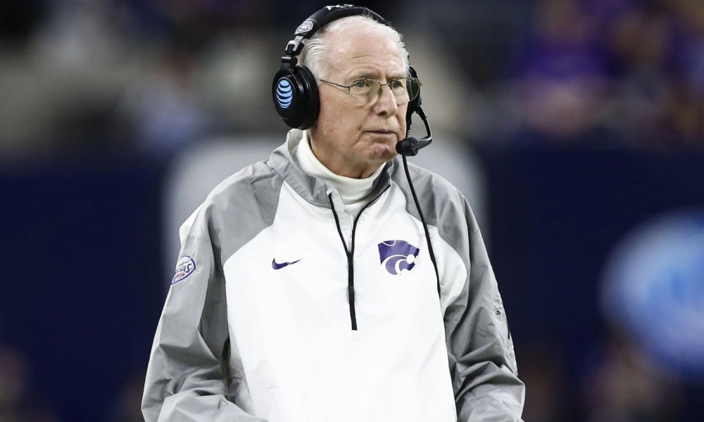 Legendary Kansas State football coach Bill Snyder (Photo: USA TODAY)