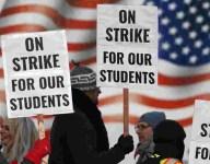 Replacement coaches? Denver school teachers go on strike
