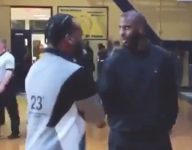 VIDEO: Chris Paul showed up to watch Patrick School upset Cox Mill, Wendell Moore before All-Star Weekend