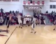 VIDEO: Spencer Myers delivers a win on wild buzzer beater from just inside half court