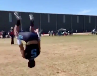 VIDEO: 7v7 flip circles are the new synchronized dunk jumps of high school sports