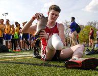 Track star Sean English wins award honoring Purdue superfan Tyler Trent
