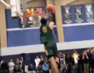 VIDEO: Drake London, two sport USC super recruit, throws down 540 dunk at Battle of the Valley