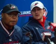 Johnny Manziel's new AAF coach Mike Singletary also coaches a Texas high school