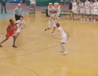 VIDEO: Battling buzzer beaters make for theater in Mass. high school basketball playoff